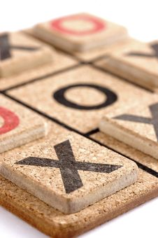 Free A Close Up Of Naughts And Crosses Royalty Free Stock Images - 6038189