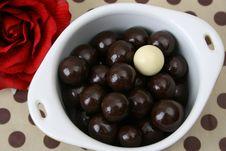 Free Chocolate Balls Stock Image - 6038221