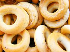 Free Bagel Royalty Free Stock Image - 6038296