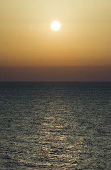 Dawn, Black Sea Stock Photo