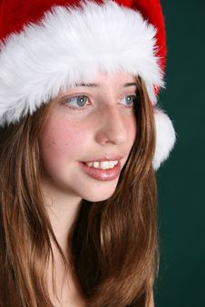 Free Christmas Hat Royalty Free Stock Photo - 6038515