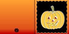 Free Halloween Frame Royalty Free Stock Photo - 6038625