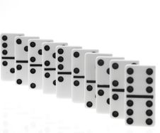 Free Dominoes On White Backgroun Royalty Free Stock Photo - 6038725