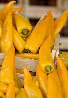 Free Hot Yellow Paprika Royalty Free Stock Photo - 6039275