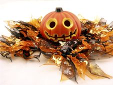 Free Smiling Pumpkin Stock Image - 6039351