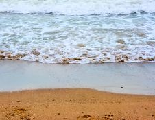 Free Sea Wave And Sand Stock Images - 6039374