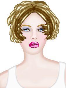 Free Woman Blond Stock Photography - 6039432