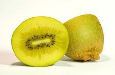 Free Golden Kiwi Fruit On White Royalty Free Stock Image - 6039546
