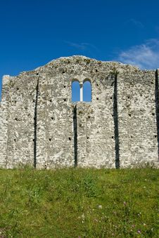 Early Christianity Church Ruins Royalty Free Stock Image