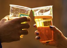 Free Beer In Glasses Stock Image - 6039681