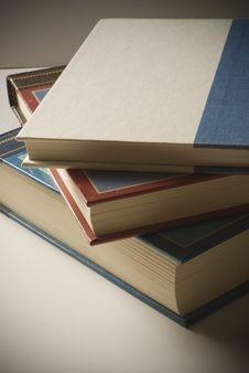 Free Three Stacked Books Royalty Free Stock Photo - 6039885
