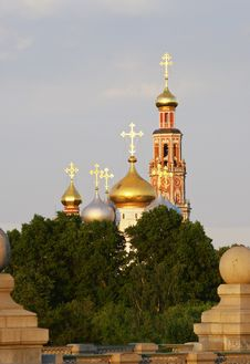 Free Novodevichy Convent Royalty Free Stock Photography - 6039957