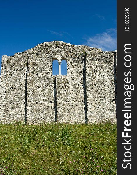 Early christianity church ruins