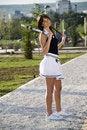 Free Tennis Girl Stock Image - 6046901