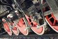 Free Steam Locomotive Wheels Royalty Free Stock Photo - 6047165