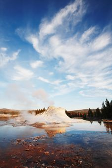 Free Castle Geyser Royalty Free Stock Photography - 6040027
