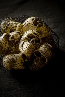 Free Sack Of Skulls Royalty Free Stock Photography - 6040057