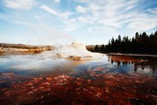 Free Castle Geyser Royalty Free Stock Image - 6040066