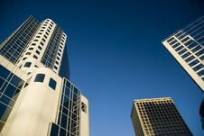 Free Vancouver Buildings Royalty Free Stock Image - 6040256