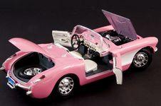 Free Pink Stylish Classic Sports Car Stock Photo - 6040460