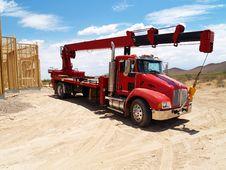 Semi Truck - Horizontal Stock Photography