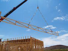Free Construction Crane - Horizontal Stock Photography - 6040602