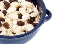 Free Bowl Of Oatmeal Stock Photography - 6041272