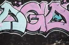 Free Graffiti Detail Stock Photo - 6041360