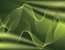 Free Green Wave Abstract Stock Photo - 6041390