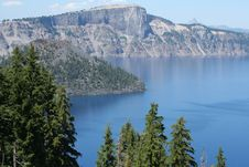 Free Crater Lake Stock Photography - 6041442