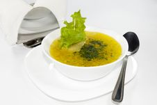 Free Tasty Soup, First Dish Royalty Free Stock Photo - 6041455