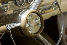 Free 1958 Ford Edsel Steering Wheel Stock Images - 6041534
