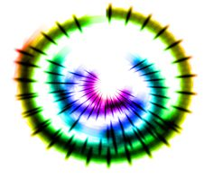 Free Abstract Rainbow Waves Stock Images - 6041864