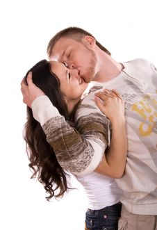 Free Loving Couple Royalty Free Stock Photos - 6042158