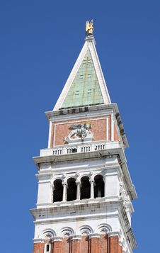 Venice Bell Tower Royalty Free Stock Image