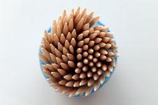 Free Toothpicks Stock Photography - 6042592