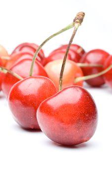 Free Fresh Cherry Royalty Free Stock Photo - 6042875