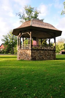 Free Bandstand In Park Royalty Free Stock Photo - 6043065