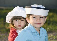 Free Sunny Family Portrait Stock Photography - 6043272