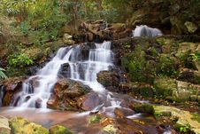 Free Cascading Waterfall Royalty Free Stock Images - 6043329