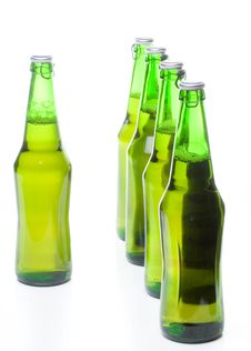 Free Beer In A Bottle Stock Photography - 6043982