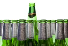 Free Glass Recycling - Empty Beer Bottles Royalty Free Stock Images - 6044479
