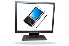 Free Lcd Monitor Royalty Free Stock Images - 6045239