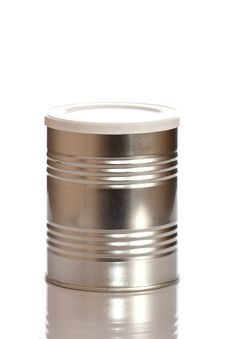 Metal Tin Container Stock Photography