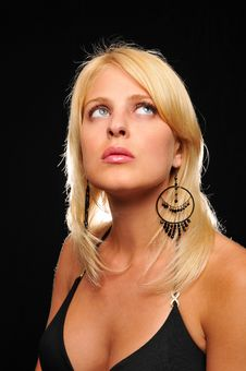 Gorgeous Young Blond Woman Royalty Free Stock Image