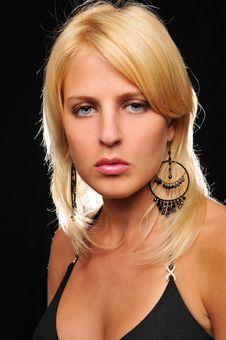 Gorgeous Young Blond Woman Royalty Free Stock Photo