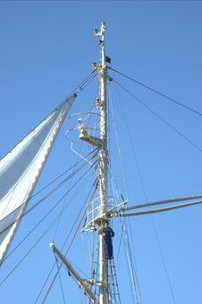 Free Gdynia Mast Royalty Free Stock Photos - 6046068