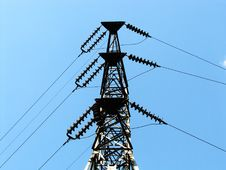 Free Power Transmission Line Royalty Free Stock Photos - 6046458