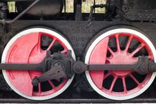 Free Steam Locomotive Wheels Royalty Free Stock Photo - 6047195