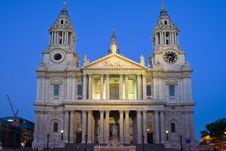 British St Paul S Cathedral Stock Images